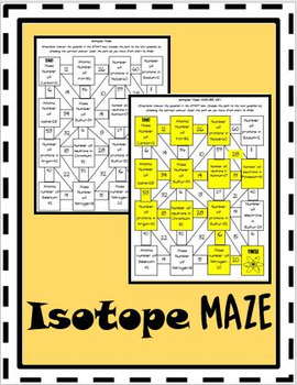 Isotope Maze