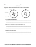 Isotope Opener with Answer Key and Editable!