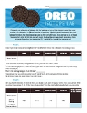 "Isotope ""Oreo""  Lab Activity"