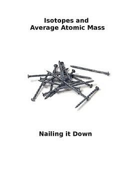 Isotopes and Average Atomic Mass