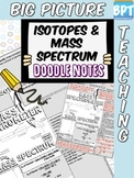 Isotopes and Mass Spectrum Activity Worksheet Doodle Notes