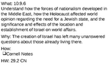 Israel Becomes a Nation - 29.2 Powerpoint - New Nations Emerge