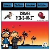 Israel Country Study: A Mini-Unit & Israel Flip Book