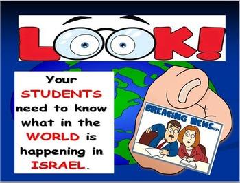 Israel Map Activities