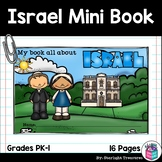 Israel Mini Book for Early Readers - A Country Study