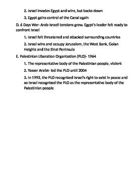 Global 2: Israel Notes