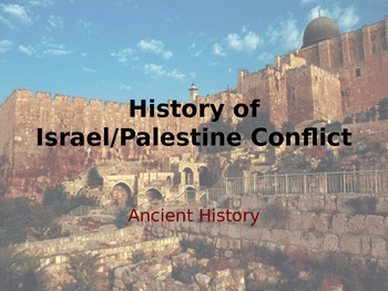 History of the Middle East - Israel Palestine Conflict.