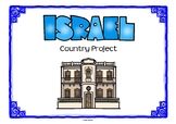 Israel Project for Gepgraphy