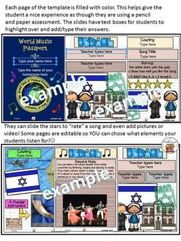 Israel World Music Digital Passport