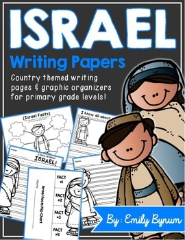 Israel Writing Pages (A country study!)