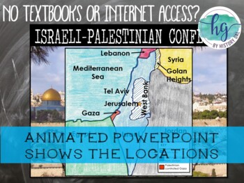 Israeli-Palestinian Conflict Map Activity
