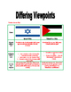 Israeli and Palestinian Conflicts - Middle East handouts