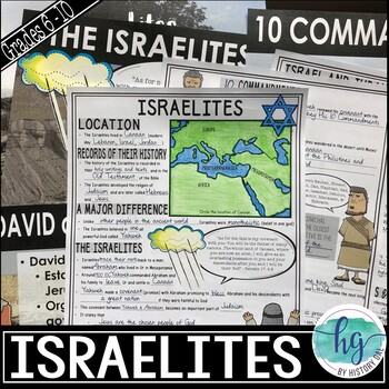 Israelites PowerPoint and Guided Notes