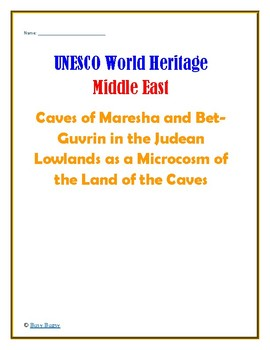 Isreal: Caves of Maresha and Bet-Guvrin in the Judean Lowlands  Research Guide
