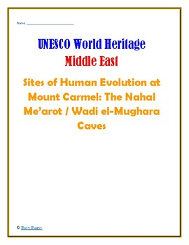 (GEOGRAPHY) Israel: Sites of Human Evolution at Mount Carmel—Research Guide