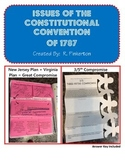 Issues of Constitutional Convention of 1787 (Great Compromise, 3/5 Compromise)