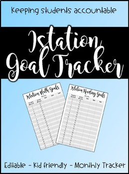 Istation Goal Tracker