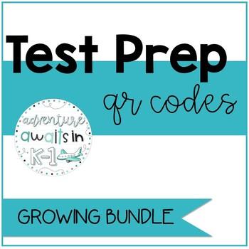 Istation Test Prep QR Centers- Growing Bundle