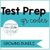 Literacy Test Prep QR Centers- Growing Bundle