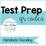 Literacy Test Prep QR Code: Alphabetic Decoding