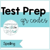 Literacy Test Prep QR Codes: Spelling