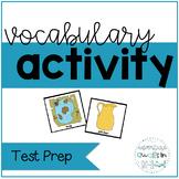 Test Prep Vocabulary Activity