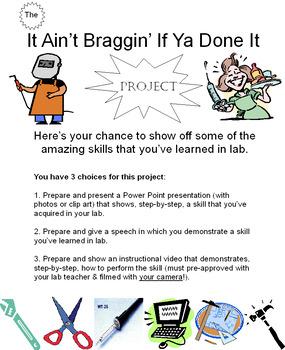 It Ain't Braggin' If Ya Done It Project