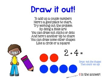 It All Adds Up- a rhyming book about addition strategies