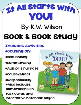 It All Starts With You Book Study: Anti-bullying Book and Resources