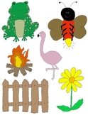 It Begins with F: Clip Art for the Letter F and the Sound it Makes!