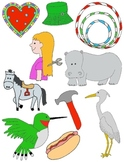 It Begins with H: Clip Art for the Letter H and the Sound it Makes!