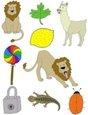 It Begins with L: Clip Art for the Letter L and the Sound it Makes!