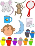 It Begins with M: Clip Art for the Letter M and the Sound it Makes!