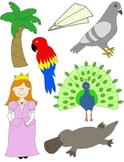 It Begins with P: Clip Art for the Letter P and the Sound it Makes!