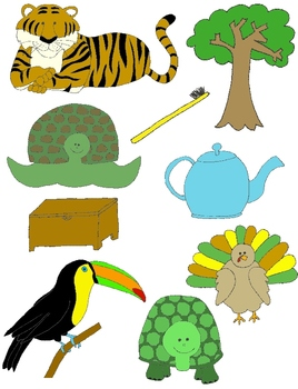It Begins with T: Clip Art for the Letter T and the Sound it Makes!