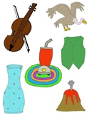 It Begins with V: Clip Art for the Letter V and the Sound it Makes!