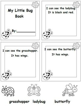 """It Bugs Me! (A Bug themed """"Write the Room and other Literacy Activities)"""