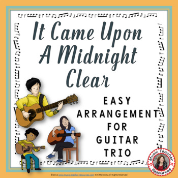 Christmas Music: It Came Upon a Midnight Clear Guitar Trio