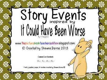 Story Events inspired by It Could Have Been Worse by A.H.