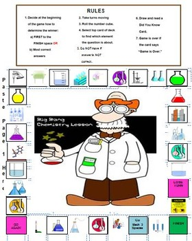It's Elemental !! Periodic Table Board Game