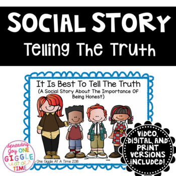 It Is Best To Tell The Truth (A Social Story)
