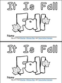 It Is Fall- Nonfiction Leveled Reader- Level B Kindergarten Science Seasons