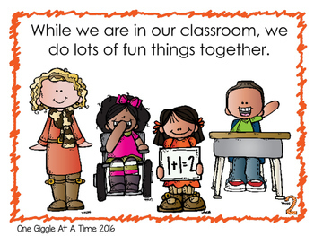 It Is Important To Be Cooperative At School (A Social Story)