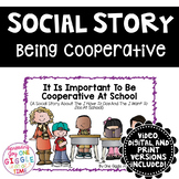 Social Story Being Cooperative