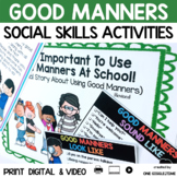It Is Important To Use Good Manners At School ( A Social Story)