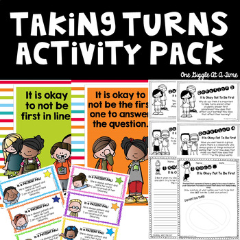 It Is Okay Not To Be First Activity Pack
