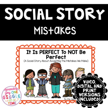 It Is PERFECT To Not Be Perfect (A Social Story)