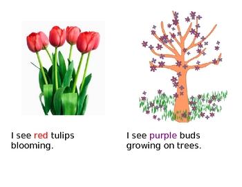 It Is Spring - Emergent Reader