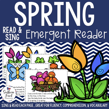 Spring Shared Reading Read & Sing Early Reader