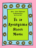 It Is Springtime Sheet Music